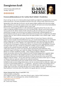 Anmeldelse H-mol messen 2015