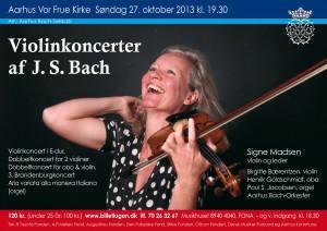 BACH Violinkoncerter