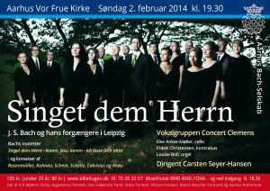 Bach-motetter 2014