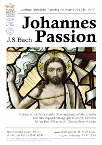 PLAKAT Bach JohannesPassion 26.3.